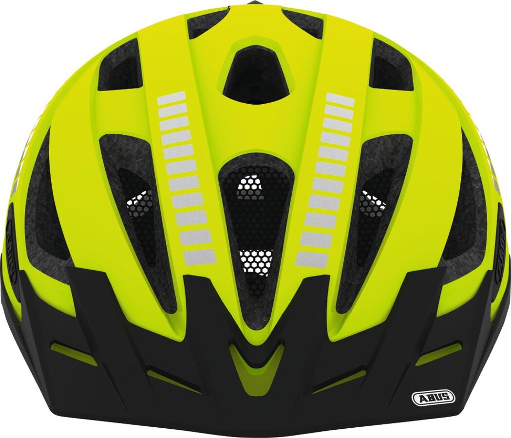 abus urban i 2 0 signal casco per bici giallo su addnature. Black Bedroom Furniture Sets. Home Design Ideas